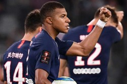 Paris Saint Germain 2 1 Rennes Mbappe And Di Maria Complete Trophee Des Champions Comeback