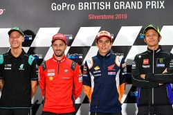 Motogp Riders Prepare To Take On Silverstone