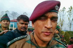 Lieutenant Colonel Ms Dhoni Polishes His Shoes In His Army Battalion Camp