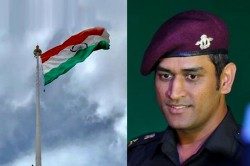 Ms Dhoni To Unfurl National Flag In Leh On August 15 Independence Day Report