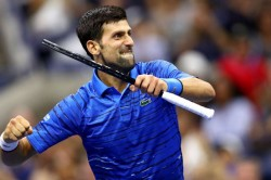 Us Open 2019 Djokovic Comes Through Kudla Test Amid Continued Shoulder Questions