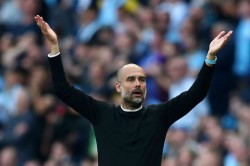 Pep Guardiola Maybe Var Having Coffee Manchester City Tottenham