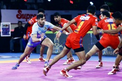 Pkl 2019 Thakur Helps Tamil Thalaivas Clinch Thrilling Tie With Up Yoddha