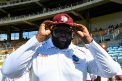 India Vs West Indies Rahkeem Cornwall The World S Heaviest Cricketer Impresses Test Debut