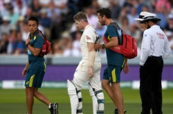 Ashes 2019 Australia Talisman Smith To Take No Further Part In Second Test