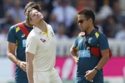 Ashes 2019 Steve Smith Out Third Test Australia England