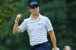 Bmw Championship Justin Thomas Leads After Setting New Course Record At Medinah