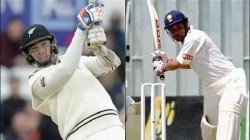 Sri Lanka Vs New Zealand Tim Southee Equals Sachin Tendulkar Batting Record Test Cricket