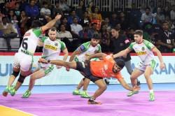 Pro Kabaddi League 2019 Rohit Baliyan Shines As U Mumba Downs Patna Pirates