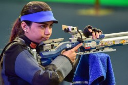 Apurvi Deepak Shoot Mixed Team Air Rifle Gold At Issf World Cup