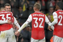 Efl Cup Arsenal 5 0 Nottingham Forest Martinelli Opens Account As Arsenal Cruise Into Fourth Round
