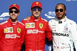 Charles Leclerc Warns Ferrari Formula One Belgian Grand Prix Advantage Same Race Pace Vettel Mercedes