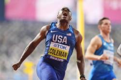 World Championships Doha 2019 Coleman Is Sprint King