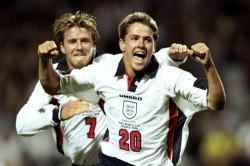 Michael Owen David Beckham Resentment England Argentina World Cup Red Card