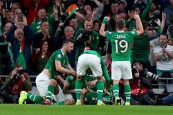 Republic Of Ireland Switzerland Euro 2020 Qualifier David Mcgoldrick Scores Late Equaliser