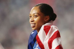 Allyson Felix Breaks Usain Bolt Record With 12th World Championship Gold