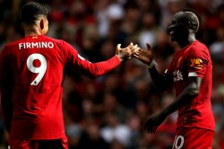 Liverpool 3 1 Newcastle United Electrifying Mane And Salah Keep Up 100 Per Cent Record