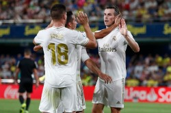 La Liga Bale Scores Twice And Sent Off As Madrid Held By Villarreal
