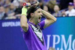Us Open Grigor Dimitrov Roger Federer Flushing Meadows Moment