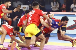Pro Kabaddi League 2019 Match 91 Dabang Delhi Vs Gujarat Fortunegiants Dream11 Prediction Fantasy Ti