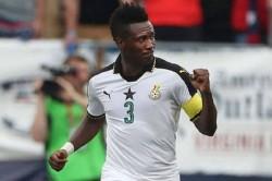 Ghana Legend Asamoah Gyan Northeast United Isl