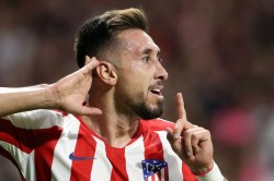 Atletico Madrid 2 2 Juventus Late Herrera Header Earns Group D Draw