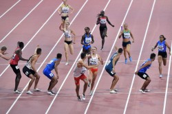 World Athletics Championships Indian 4x400m Mixed Relay Team Finishes Seventh