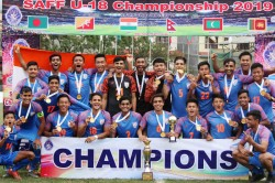 India Under 18 Clinch Maiden Saff U 18 Championship