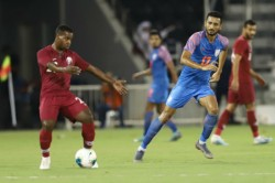 World Cup 2022 Qualifier India Vs Qatar Blue Tigers Hold Asian Champions Qatar To Goalless Draw