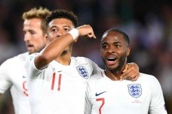 England Kosovo Jadon Sancho Raheem0sterling Star Euro 2020 Qualifying