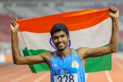 Jinson Johnson Betters Own 1500m National Record By Winning Silver In Berlin