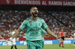 Benzema Helps Real Madrid Go Level With Athletic Bilbao