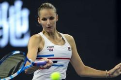 Wta China Open Karolina Pliskova Bertens Bencic