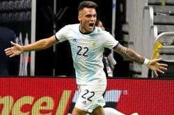 Argentina Mexico Lautaro Martinez Hat Trick Lionel Scaloni