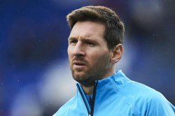 Lionel Messi Looking Good In Training Ernesto Valverde Remains Wary Of Rushing Back Barcelona Star