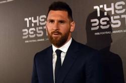 Messi Votes Ronaldo Snubs Fifa Best Award Winner