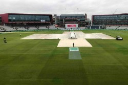 Ashes 2019 Rain Washes Out Morning Session At Old Trafford Day