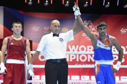 Manish Kaushik Gets Off To A Dominating Start At The Aiba Men S World Championships