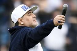 Maradona Pledges To Save Gimnasia Season