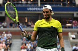 Us Open 2019 Diary Matteo Berrettini Good Luck Charm Sporting Diego Schwartzman Receives Honour