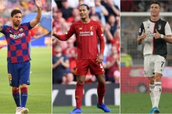 Lionel Messi Cristiano Ronaldo Virgil Van Dijk Fifa Best Player Award Finalists