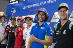 Motogp Riders Ready To Meet Targets At Aragon