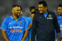 Anil Kumble Suggests Selectors To Give Ms Dhoni A Proper Send Off
