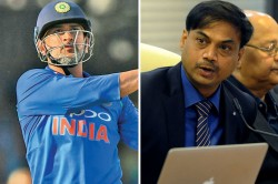 No Update On Ms Dhoni S Retirement News Is Incorrect Says Msk Prasad