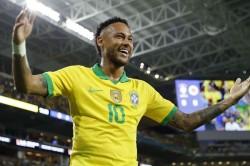 Tite Neymar Brazil Psg Peru