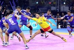 Pkl 2019 Haryana Steelers Edge Past Gujarat Fortunegiants