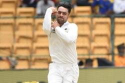 Rashid Khan Afghanistan Bangladesh Test Day Two
