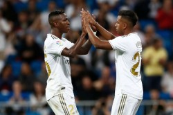 La Liga Real Madrid And Atletico Warm Up For Weekend Derby With Wins
