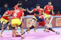 Pkl 2019 Up Yoddha Put Up An All Round Show To Defeat Gujarat Fortunegiants