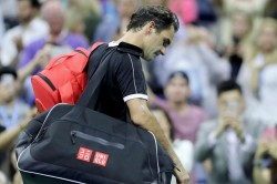Us Open 2019 Grigor Dimitrov Moment Roger Federer Back Injury
